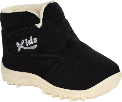 Lee Zone Baby Boys & Baby Girls Black Casual Boots