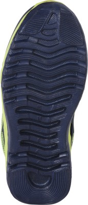 Nu-feel Boys Green Running Shoes