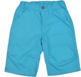 Snoby Short For Boys Casual Solid Cotton...