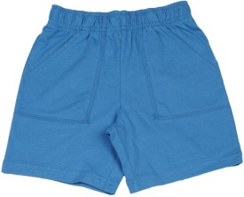 The Children's Place Short For Boys Casual Solid Cotton(Blue)
