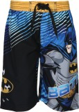Batman Short For Boys Casual Printed Pol...