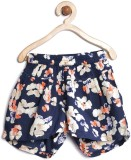 Yk Short For Girls Casual Printed Vicose...