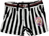 Barbie Short For Girls Striped Vicose Ly...