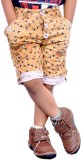AD & AV Short For Boys Casual Solid Cott...