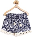 Yk Short For Girls Casual Printed Cotton...