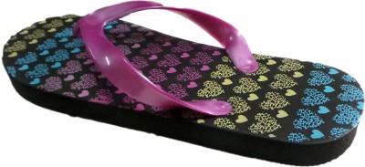 Krishna Girls Black Slipper Flip Flop