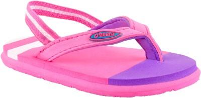 Beanz Girls Pink Slipper Flip Flop(Pack of 1)
