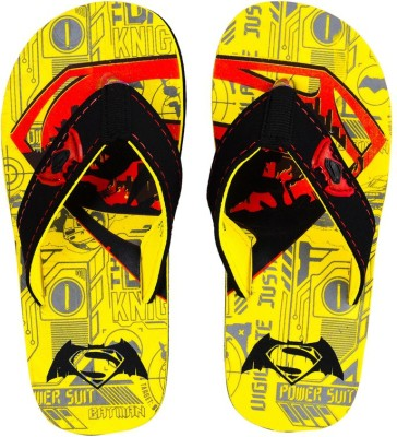 Superman Boys Blue Slipper Flip Flop