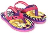 Barbie Girls Slipper Flip Flop (Pink)