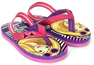 Barbie Girls Pink Slipper Flip Flop