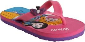 Windy Girls Slipper Flip Flop(Pink)