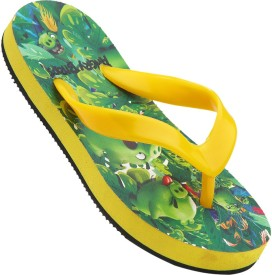 Angry Birds Boys Slipper Flip Flop(Green)