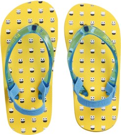 Flipside Boys & Girls Slipper Flip Flop(Yellow)