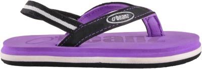 Beanz Boys Purple Slipper Flip Flop(Pack of 1)