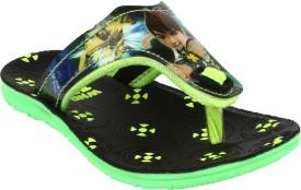 Windy Boys & Girls Slip On Slipper Flip Flop(Green)