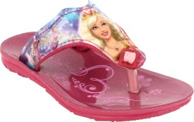 Windy Girls Slip On Slipper Flip Flop(Pink)