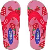 Beanz Girls Slipper Flip Flop (Pink)