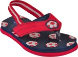 Beanz Boys Slipper Flip Flop (Red)