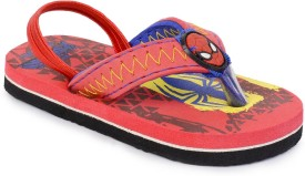 Spiderman Boys Slipper Flip Flop(Red)