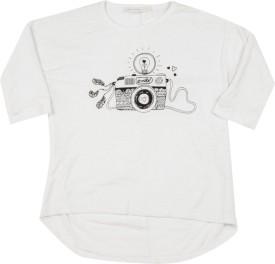 Chemistry Girl Girls Printed Cotton(White)