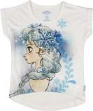 Frozen Girls Graphic Print Cotton Polyes...