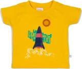 Solittle Boys Graphic Print Cotton (Yell...
