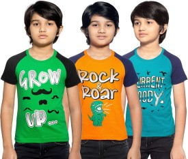 Maniac Boys Printed Cotton(Multicolor, Pack of 3)