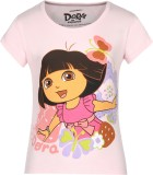 Dora Girls Printed Cotton (Pink, Pack of...