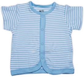 FS Mini Klub Boys Striped Cotton(Blue, Pack of 1)