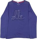 Elle Kids Girls Self Design Cotton (Dark...