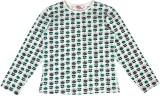 Teeny Tantrums Girls Printed Cotton (Whi...