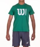 Wilson Boys Printed Cotton (Green, Pack ...