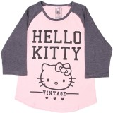Hello Kitty Girls Printed Cotton (Pink)