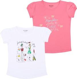 Minnow Girls Printed(White)