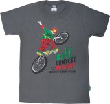 Cucumber Boys Printed Cotton (Grey, Pack...