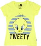 Tweety Girls Graphic Print Cotton (Yello...