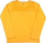 Elle Kids Girls Solid Cotton (Yellow)