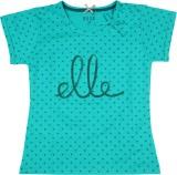 Elle Kids Girls Polka Print Cotton (Gree...