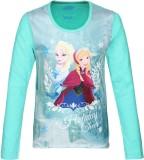 Frozen Girls Printed Polyester (Multicol...
