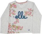Elle Kids Girls Printed Cotton (Grey)