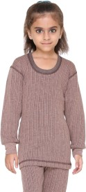 Vimal Top For Girls(Brown, Pack of 1)