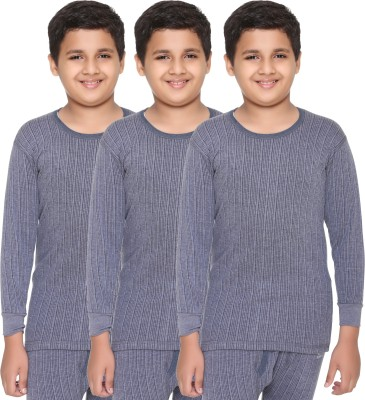 Vimal Top For Boys(Multicolor, Pack of 3)