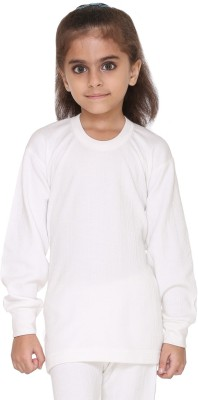 Vimal Top For Girls(White, Pack of 1)