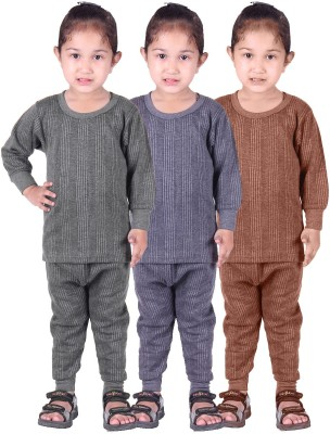 Red Fort Top - Pyjama Set For Girls