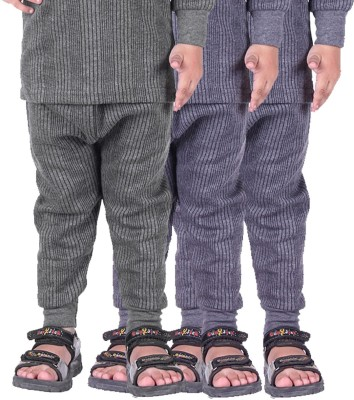 Red Fort Pyjama For Girls(Grey, Pack of 3)