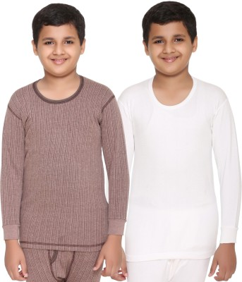 Vimal Top For Boys(Multicolor, Pack of 2)