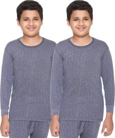 Vimal Top For Boys(Light Blue, Pack of 2)
