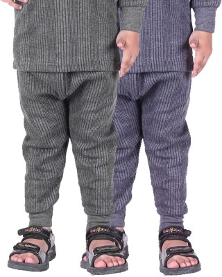 Red Fort Pyjama For Girls(Grey, Pack of 2)