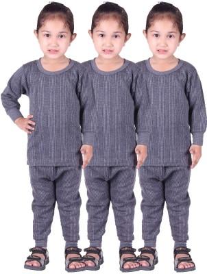 Red Fort Top - Pyjama Set For Girls