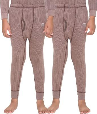 Vimal Pyjama For Boys(Brown, Pack of 2)